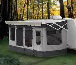 Add A Room Carefree Vacation R 14 15 For Use With Rv Awning Ebay Camper Awnings Pop Up Camper Camping