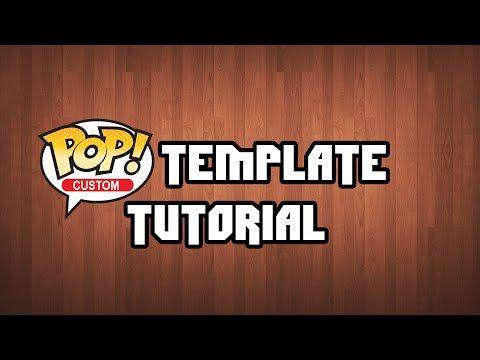 custom pop box template tutorial youtube custom pops