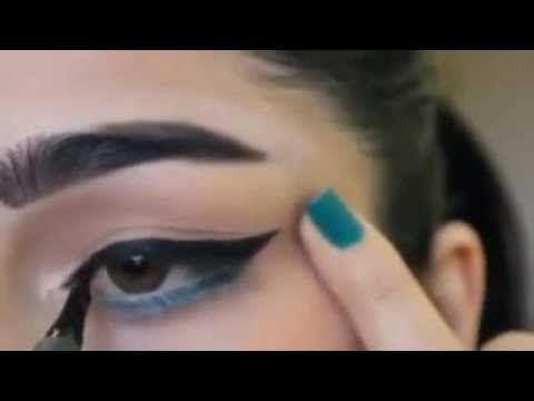 تعلمي وضع جل ايلاينر بشكل محترف في دقيقتين فقط How To Draw Eyebrows Eyebrow Shaper Bad Makeup