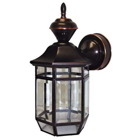 outdoor wall lighting dusk to dawn white heritage black 21