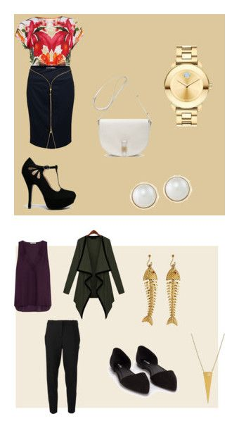 """""""Interview 'Fits"""" by franchezcastyles on Polyvore featuring Ted Baker, Versace, Movado, Qupid, Carolee, Mulberry, MICHAEL Michael Kors, Alice + Olivia, Nly Shoes and Jane Basch"""