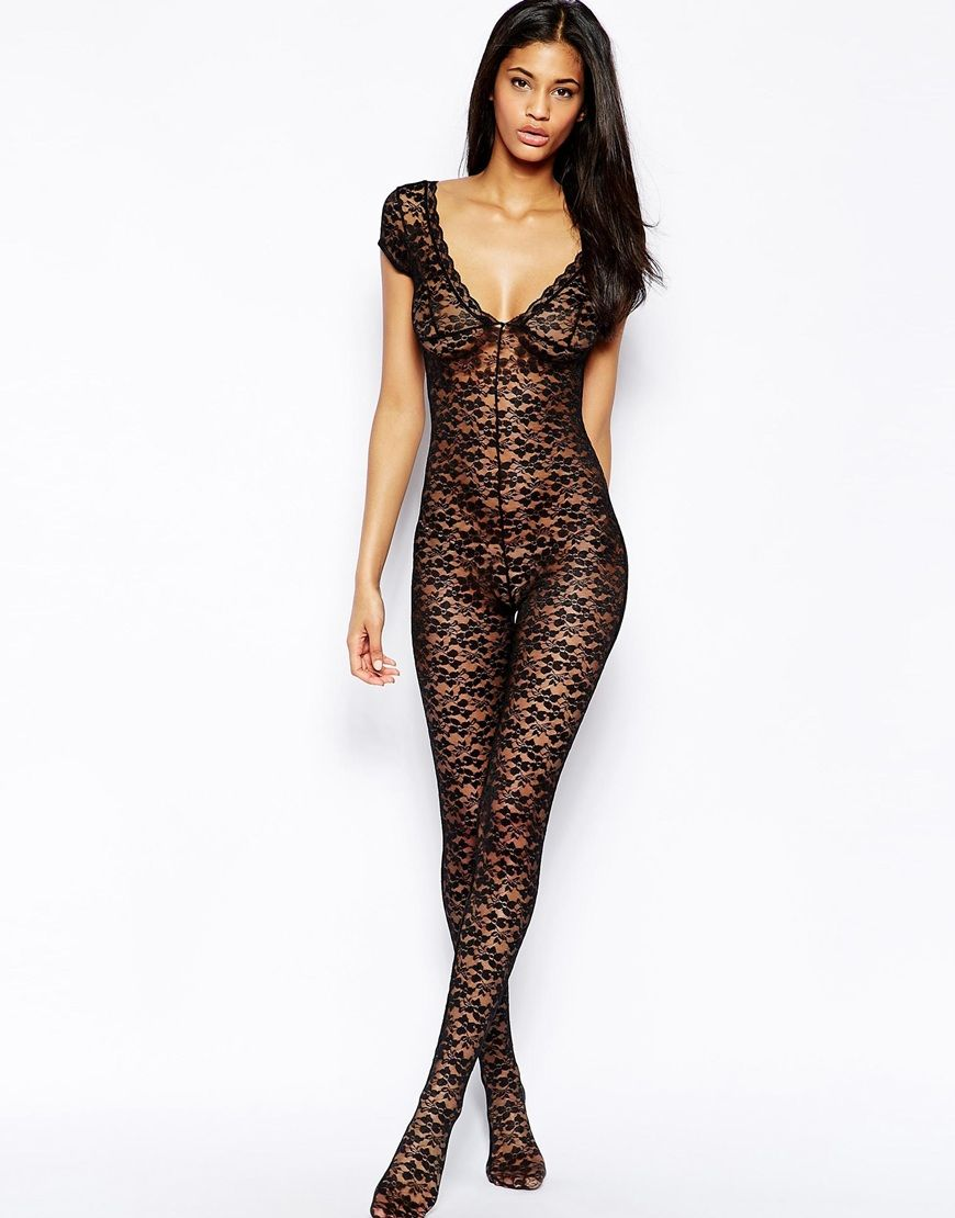 8aa79d4f241af Bluebella Allure Lace Body Stocking | Ooh la la | Lace body, Lace ...