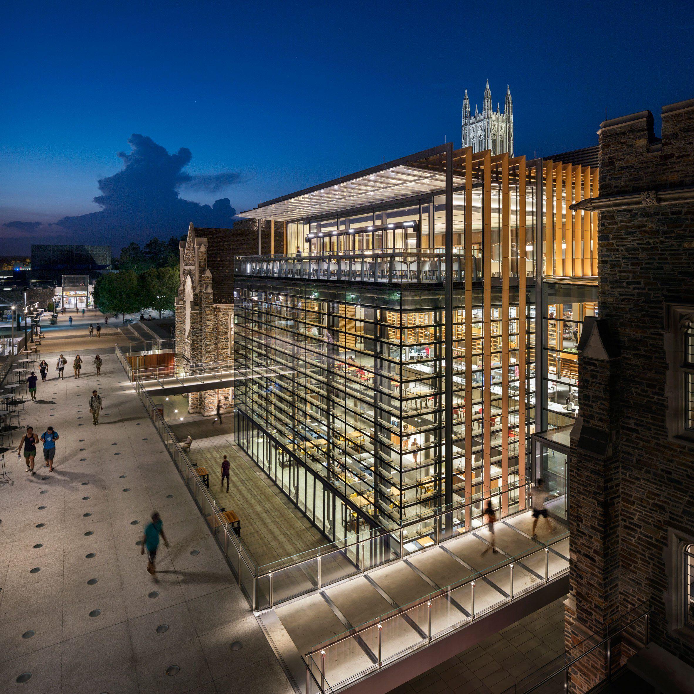 Grimshaw Overhauls Student Union At North Carolina University. School  ArchitectureHistoric ...