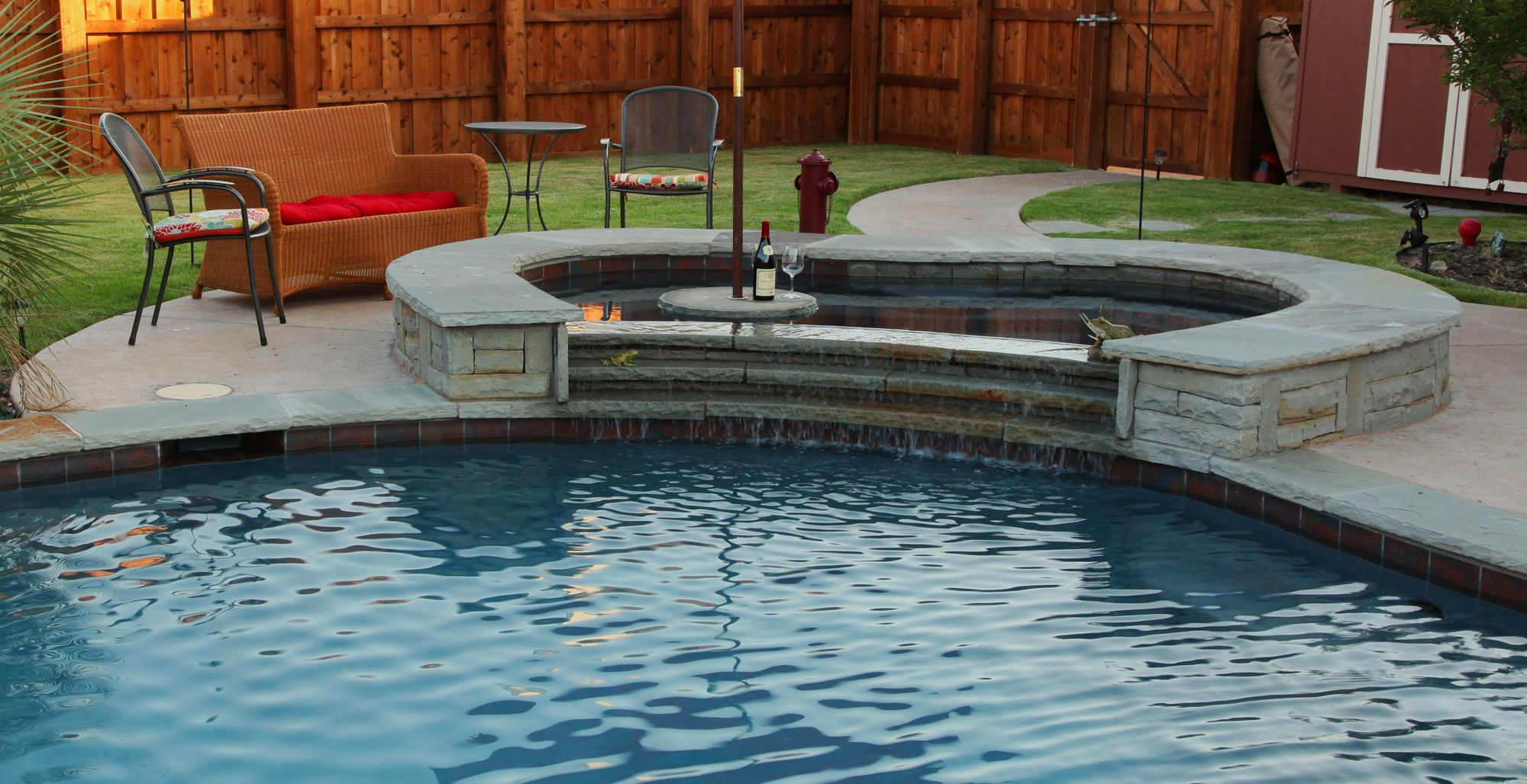 View our pools and spas, pool features, outdoor structures ... on Outdoor Living Pool And Spa id=66643