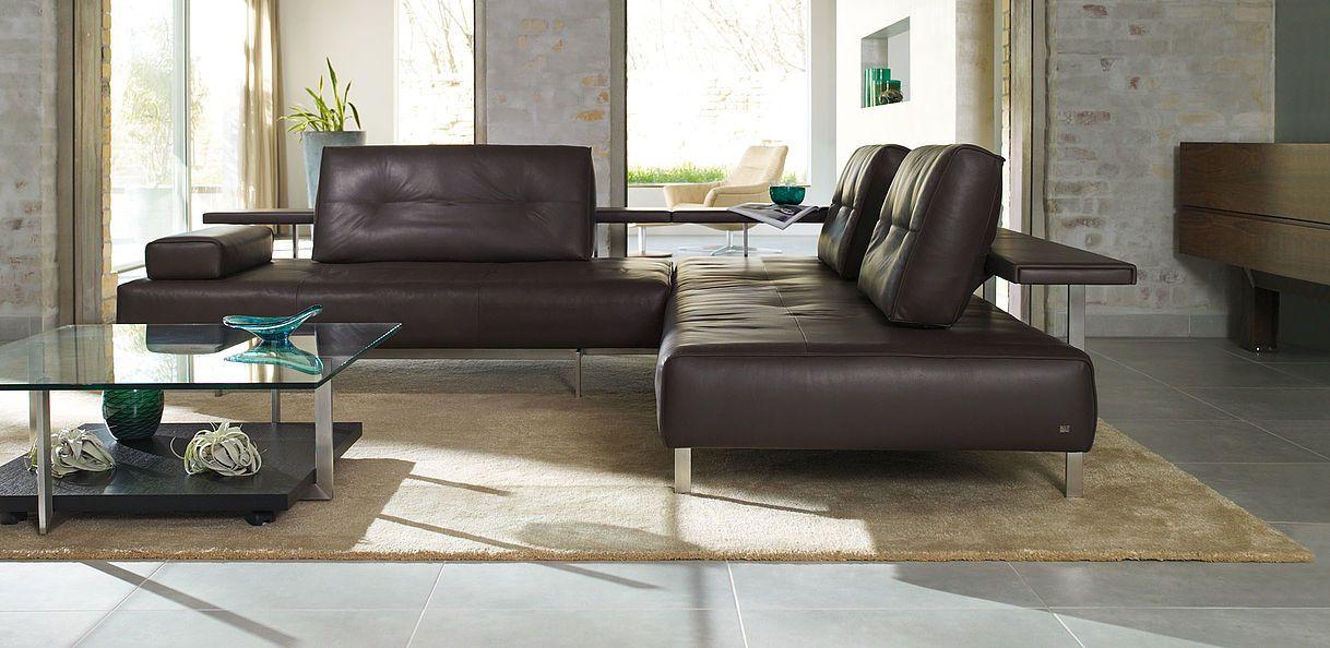 Rolf Benz DONO. Material mix. #sofa   LIVING ROOM Inspiration ...