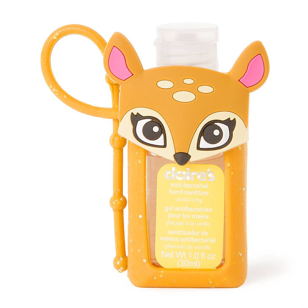 Deer Holder With Vanilla Icing Anti Bacterial Hand Sanitizer