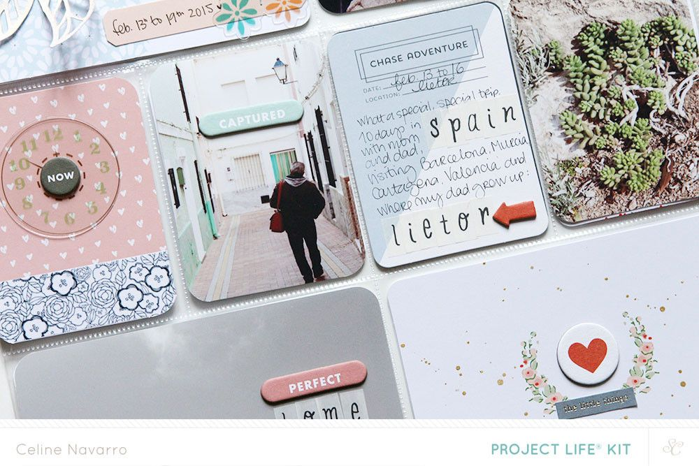 PROJECT LIFE   Week #6 *MAIN PL KIT* by celine navarro at @studio_calico