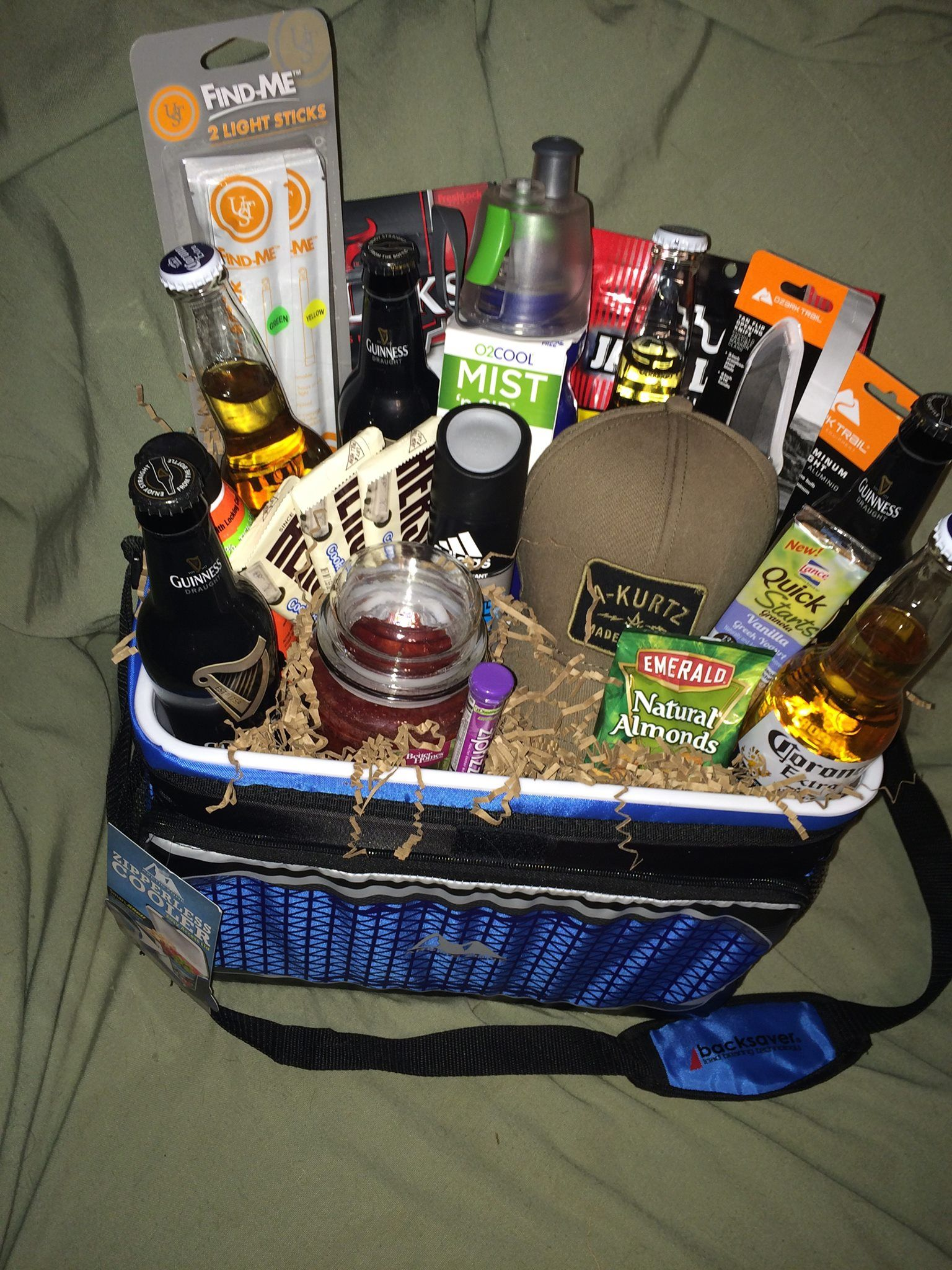 The outdoors man's favorite basket!