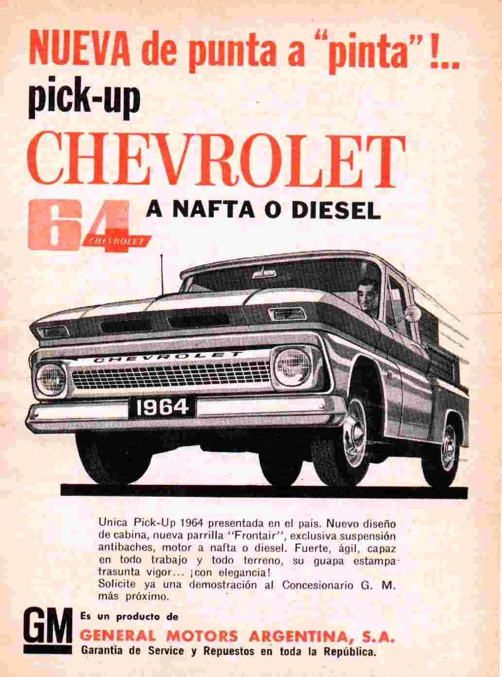 Publicidad C10 Autos Viejos Autos