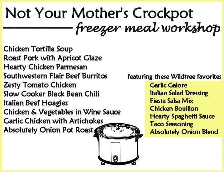 Not Your Mothers Crockpot Workshop