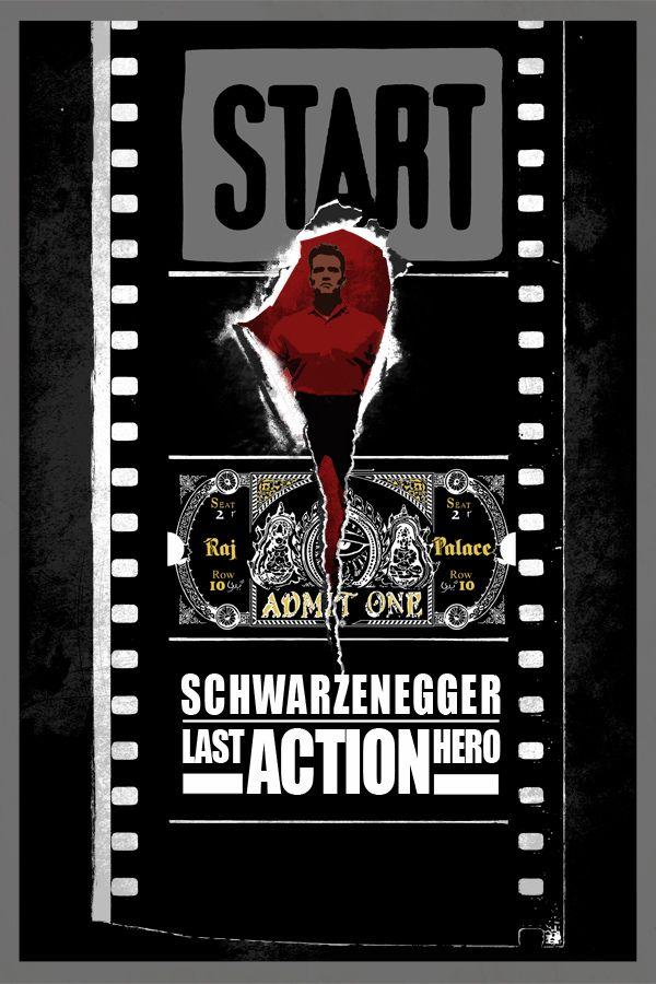 Fuck Yeah Movie Posters! — Last Action Hero byEdgar Ascensão