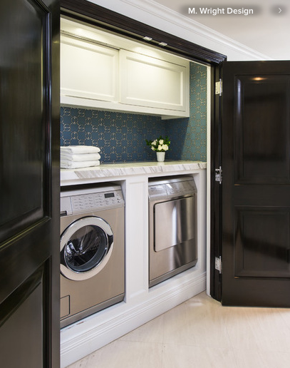 Carrera Marble Top Washer Dryer With Images Laundry Room