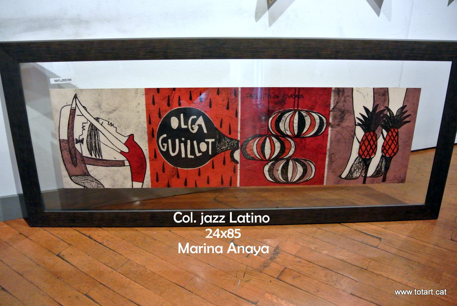 Litografia Coleccion Jazz Latino totart.cat #marinaanaya ...