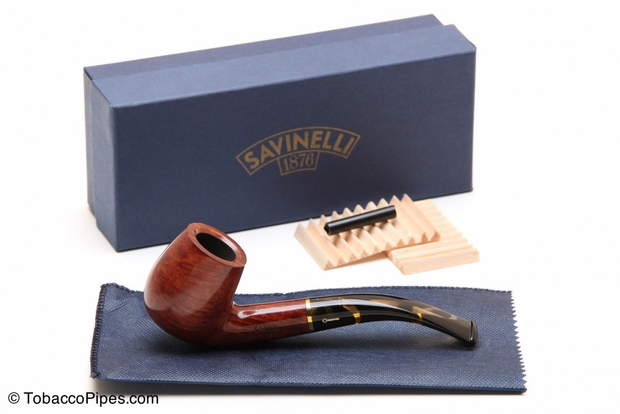 TobaccoPipes.com - Savinelli Oscar Tiger Smooth Briar Pipe 601 Tobacco Pipe, $108.80 #tobaccopipes #smokeapipe (http://www.tobaccopipes.com/savinelli-oscar-tiger-smooth-briar-pipe-601-tobacco-pipe/)