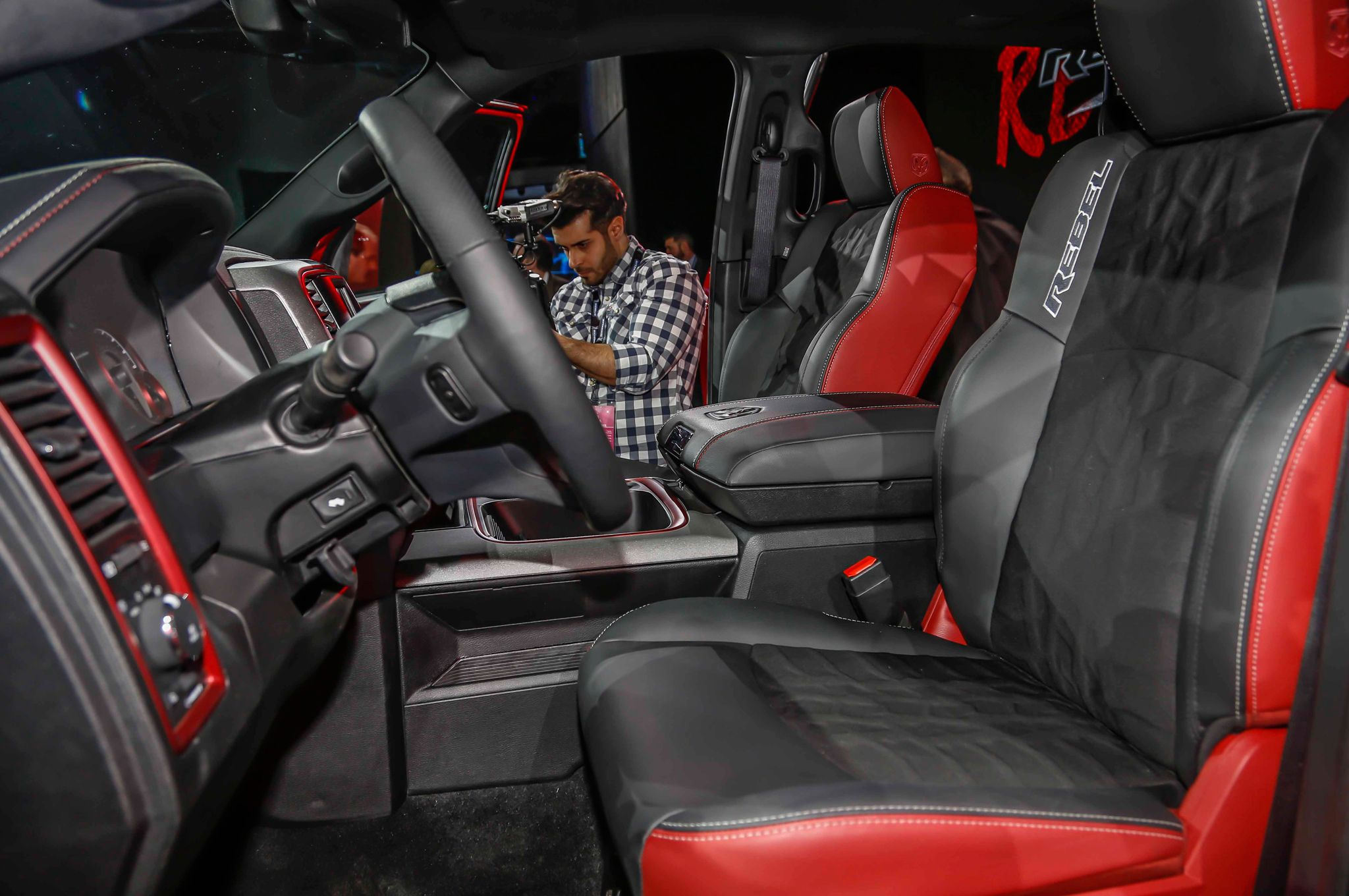 2015 Ram 1500 Rebel Interior Seats (2048×1360)