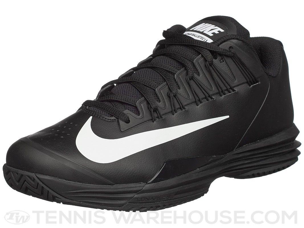 finest selection c91ec 7450c ... Nike Lunar Ballistec 1.5 BlackWhite Mens Shoe Nike Lunar Ballistec 1.5  Mens Tennis ...