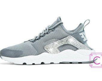Women's Nike Air Huarache Run Ultra w/SWAROVSKI® Crystals - Nike Swarovski  - Custom