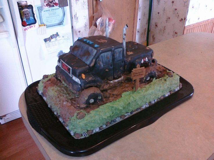 Mud Truck Cakes Truck Cake Cake Decorating Community