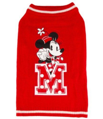 Disney Pet Holiday MINNIE MOUSE Polka Dot Sweater for Dogs size MEDIUM Pet Holiday http://www.amazon.com/dp/B00HPJZZHC/ref=cm_sw_r_pi_dp_jsfeub1QFAFR2
