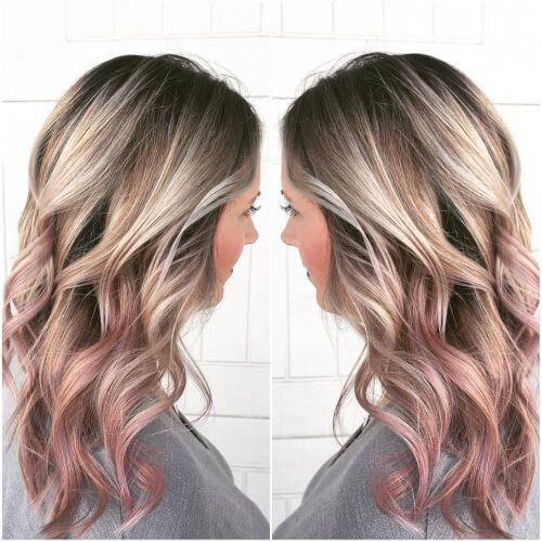 19 Best Rose Gold Hair Color Ideas For 2020 Gold Hair Colors