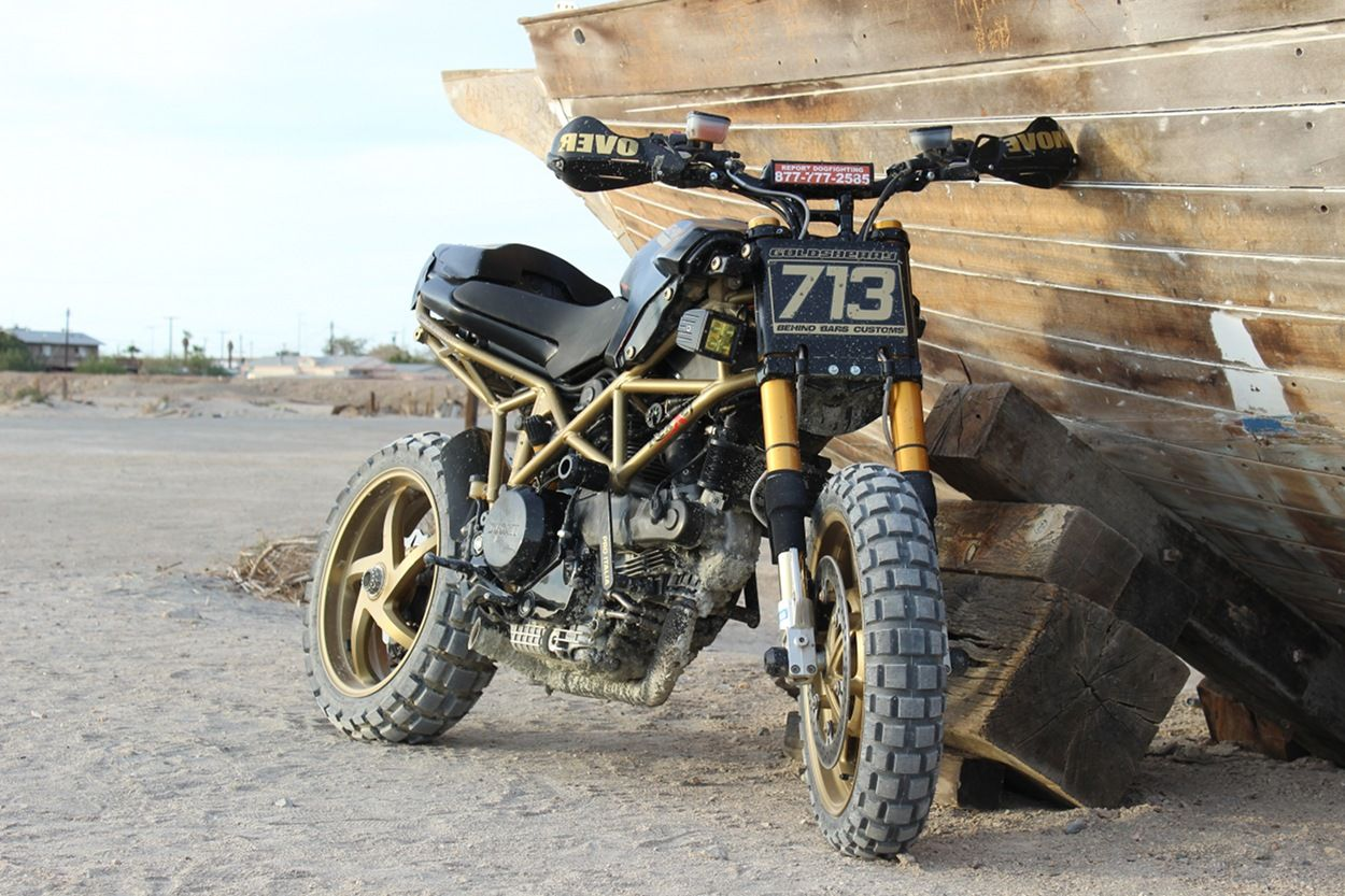 Ducati Multistrada Scrambler By Behind Bars Customs Ducati