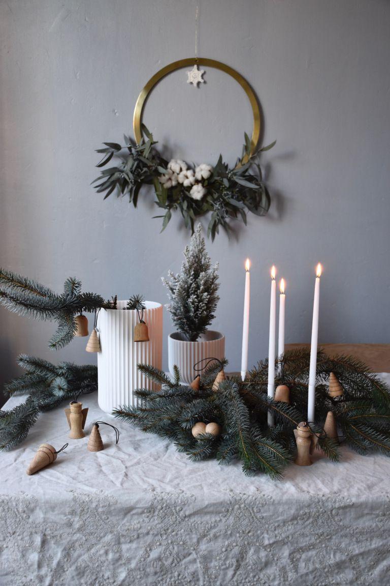Scandinavian Christmas With Architecmade In 2020 Scandinavian Christmas Decorating With Christmas Lights Nordic Christmas Gift