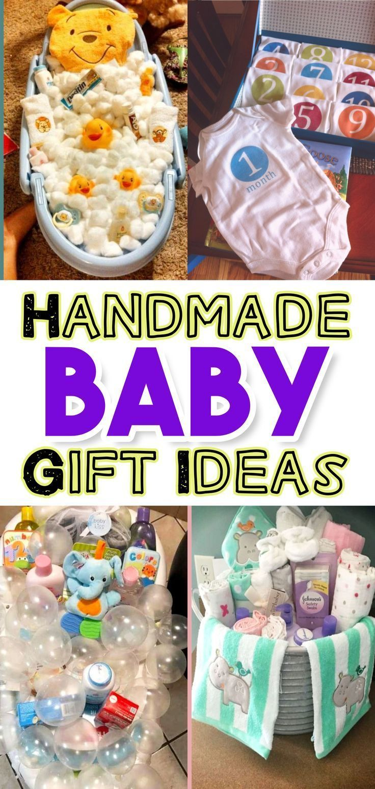 Unique handmade baby gifts for DIY baby shower gifts on a ...#baby #diy #gifts #handmade #shower #unique