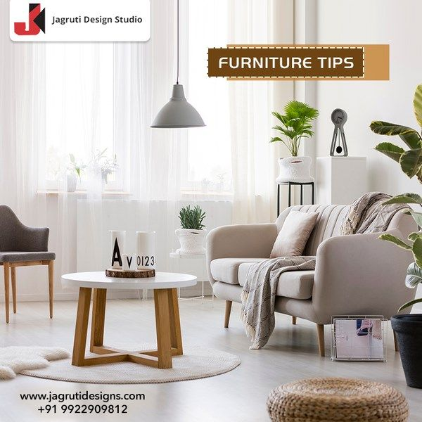 Round tables in small rooms make the space flow better & you won't bang yourself on sharp corners. So try this cool furniture tip to get comfort and stunning look for your room.  #jagrutidesigns #interiordesignstudio #interiordesigntips #designtip #designertips #monthend #monthendspecials #simpletips #monthendtips #furnituretip #roundtable #homedecor #stunninglook