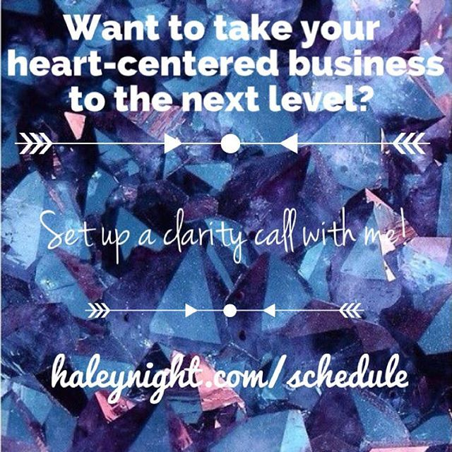 Set up a clarity call with me!  Looking forward to talking with you. Xo