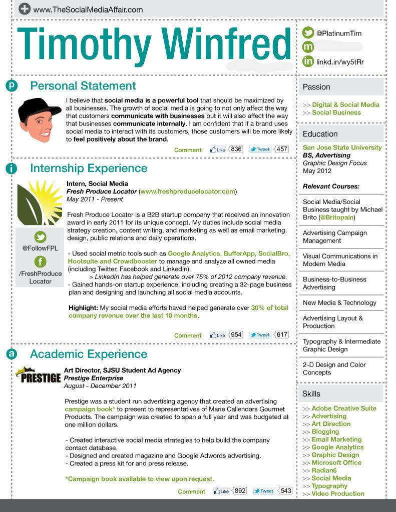Timothywinfred Creativeresume Design Resumes Pinterest