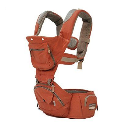 Bebamour 5 Position New Style Baby Carrier (Orange)