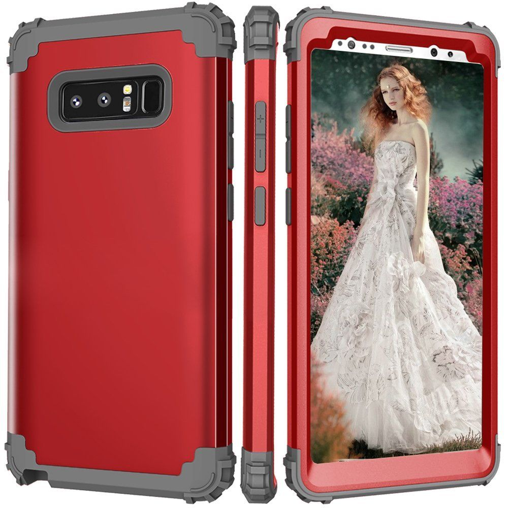 Galaxy Note 8 Case for Women/Girls,Auker Dual Layer Slim