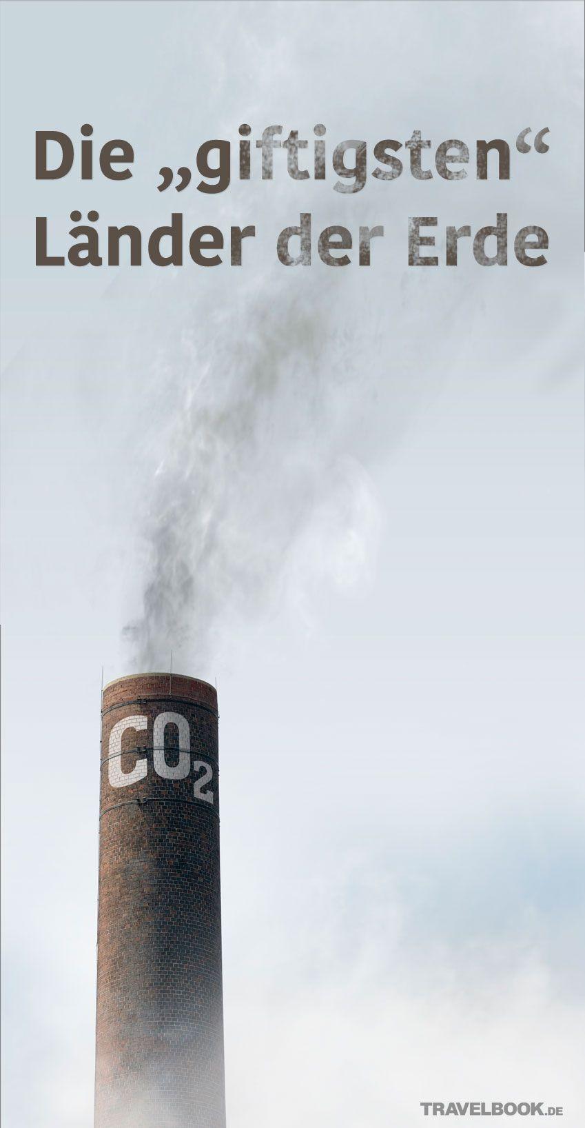 """Welches Land pustet wie viel CO2 in die Luft? Wer investiert in erneuerbare Energien? Eine Weltkarte zeigt die """"giftigsten"""" und auch die saubersten Länder der Welt."""