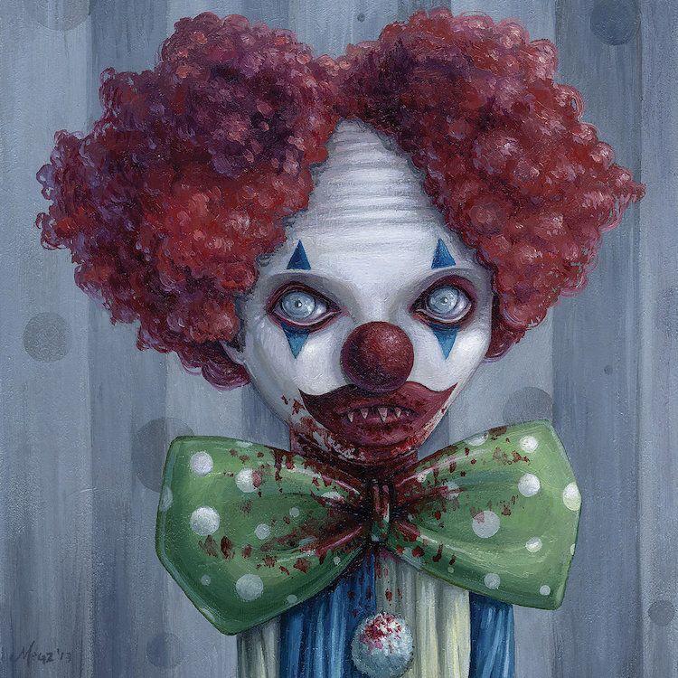 Pogo Canvas Wall Art by Megan Majewski   iCanvas   Scary ...