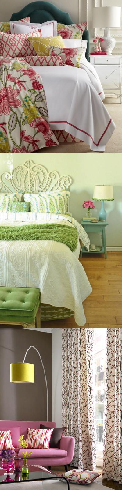 Spring is nearly here! As the weather warms up, colors brighten up outside, as do the colors in your home.