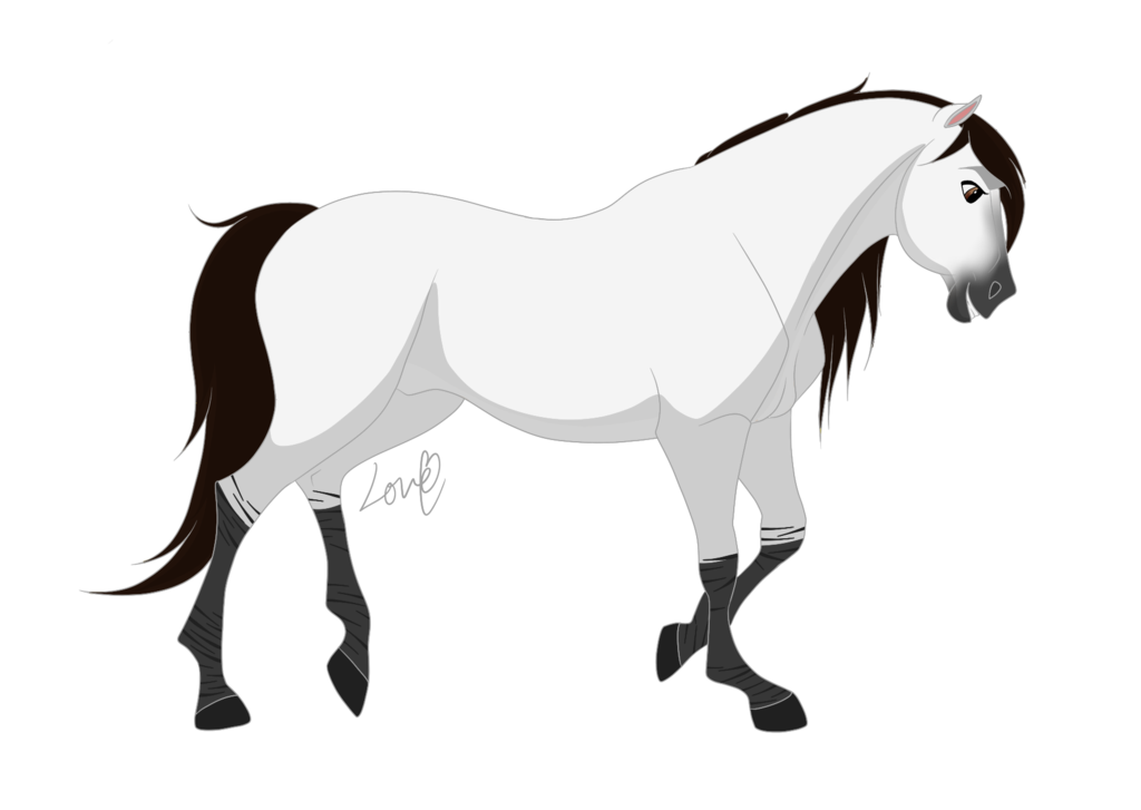 Mallory is her name · horse drawingsanimal