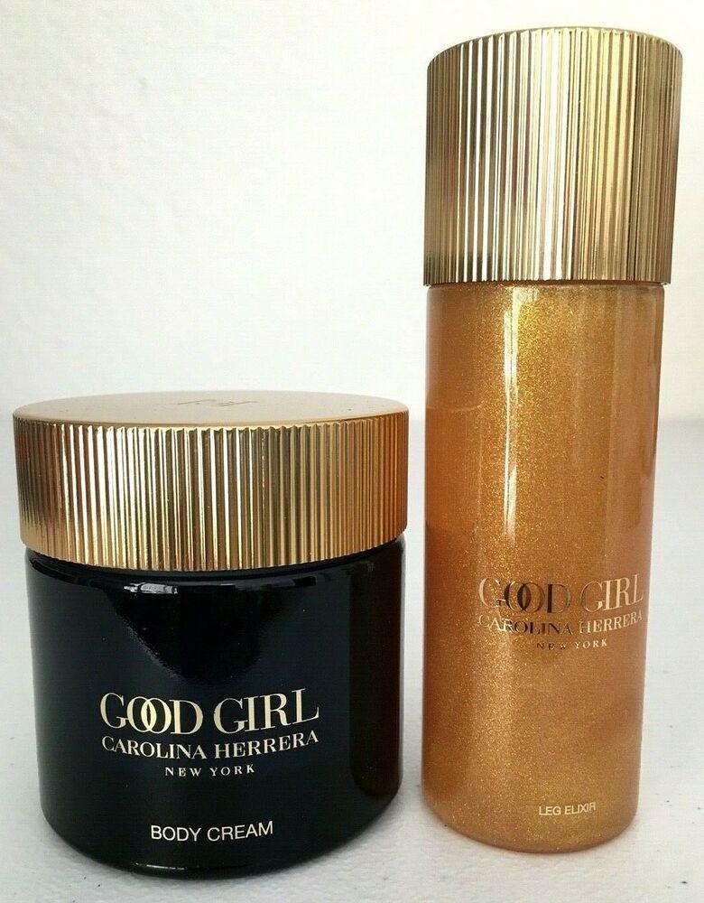 NEW! Carolina Herrera Good Girl 3.4oz Body Cream and 3.4oz