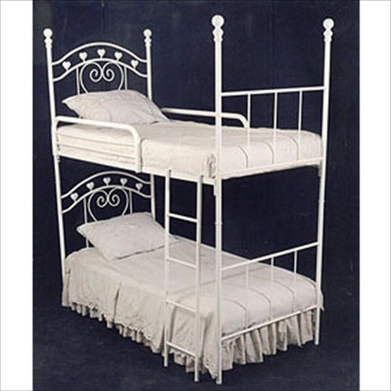 Bunk Beds W Hearts Bunk Bed Bunk Beds Bunks Toddler Bedrooms
