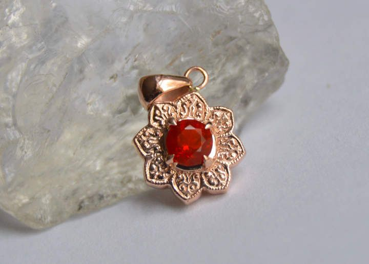 Etsy gold pendant mexican fire opal pendant rose gold pendant rose etsy gold pendant mexican fire opal pendant rose gold pendant rose gold necklace aloadofball Image collections