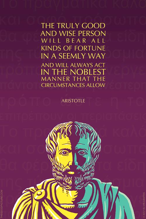Poster Many Sizes; Aristotle
