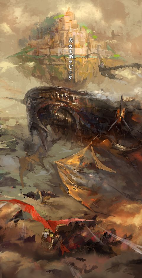 天空の城ラピュタlixiaoyaoiiのイラスト Pixiv Art ジブリ