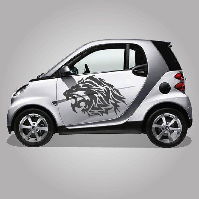 leone adesivo per auto stickers Santorografica Shop