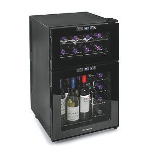 Wine Enthusiast Silent 24 Bottle Dual Zone Touchscreen Refrigerator Reviews 259 00 Cellars Product Features This Thermoelectric
