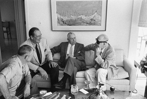 John Wayne Among Friends With John Ford At The Director S Home At