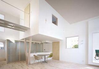 Desain Rumah Jepang Super Minimalis Bernuansa Putih Minimalist Gambar