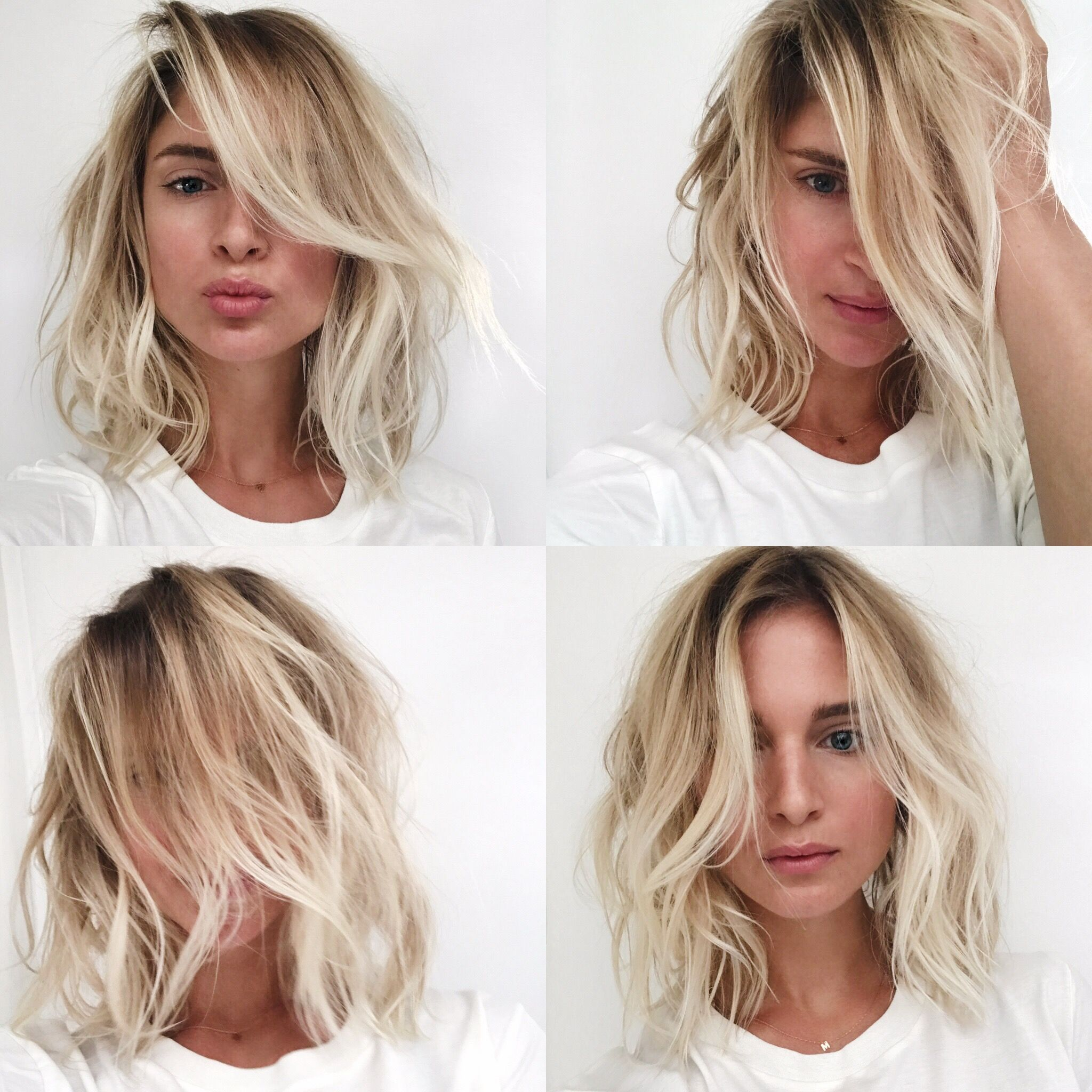 Beach hair / balayage / soft ombre / LOB / Long bob. Via Mija ...