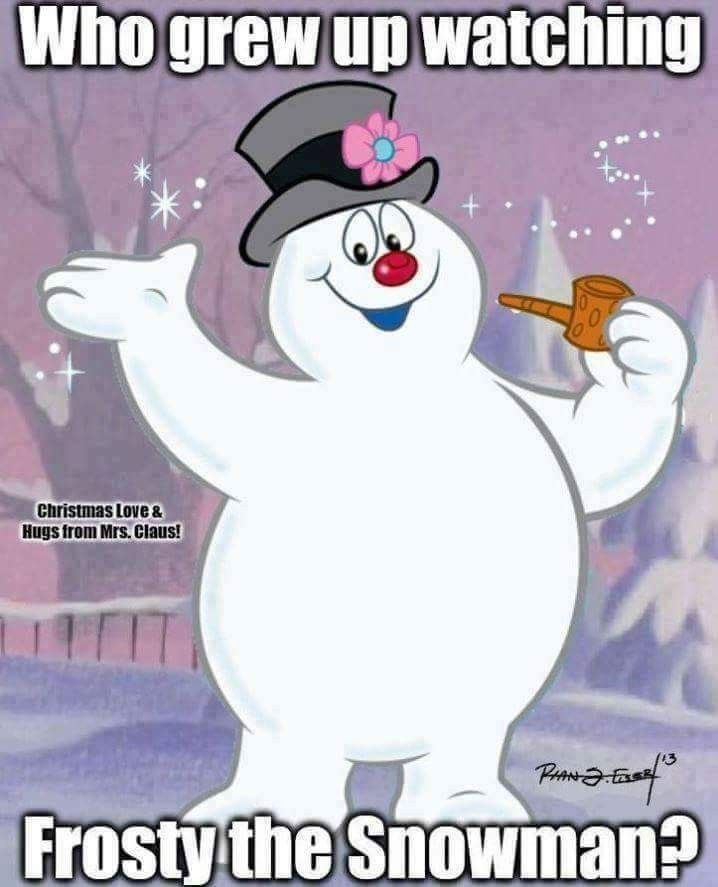 everyone loved frosty