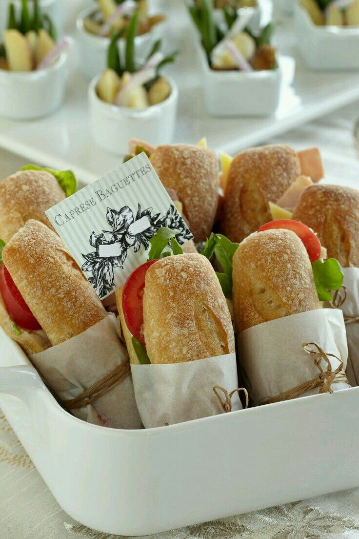 Lunch-baguettes