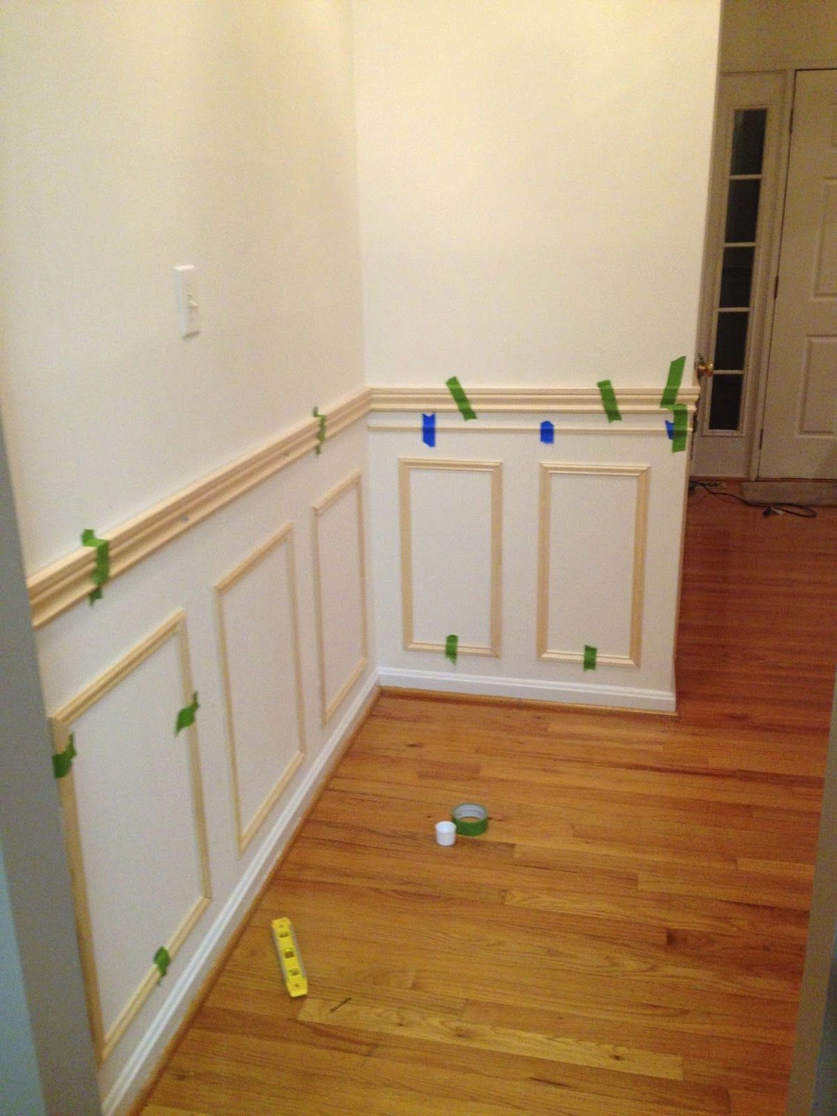 Little Brick Home How to Install Picture Frame Moulding