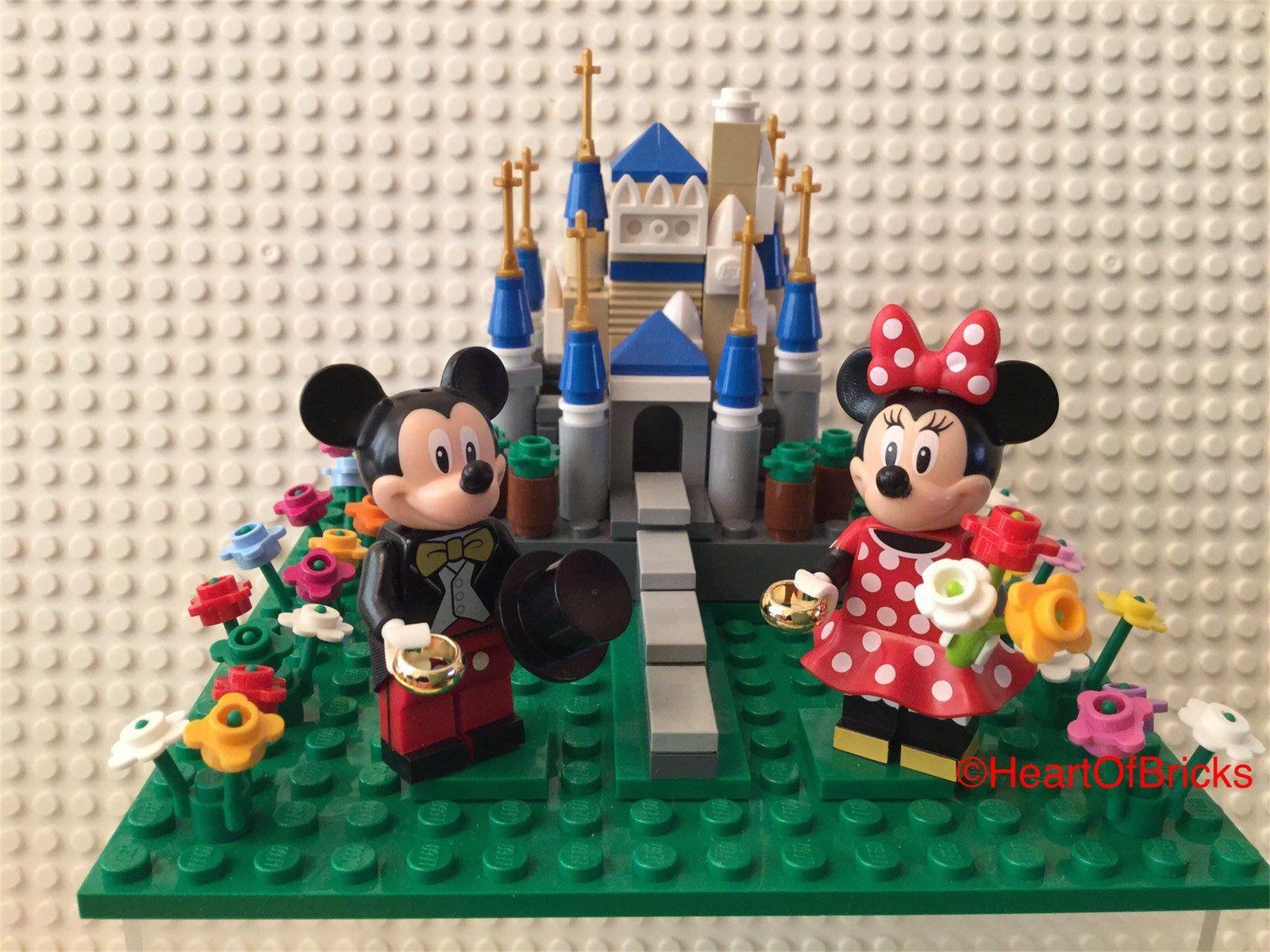 Disney Themed Cake Topper Weddings Birthdays Castle With